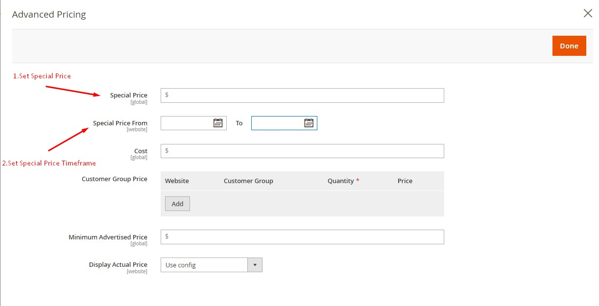 offer expires configuration step2